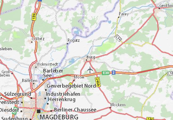 Carte-Plan Burg
