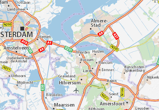 Are you looking for the map of Naarden? Find any address on the map of  Naarden or calculate your itinerary to and from Naarden, find all the  tourist ...