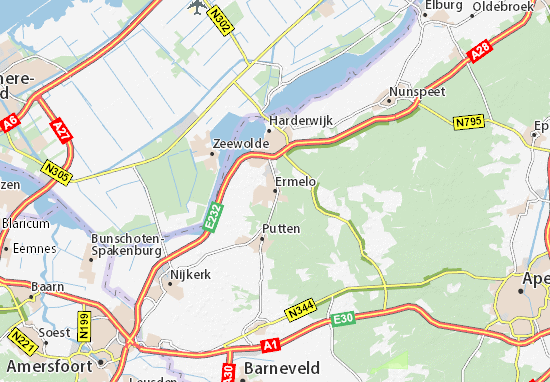 Ermelo Map