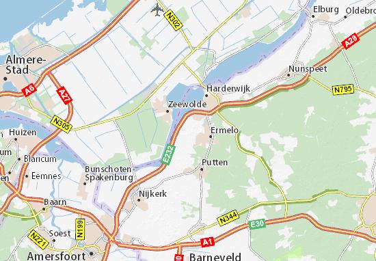 Mapa Plano Horst