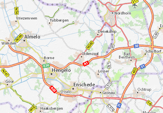 Oldenzaal Map
