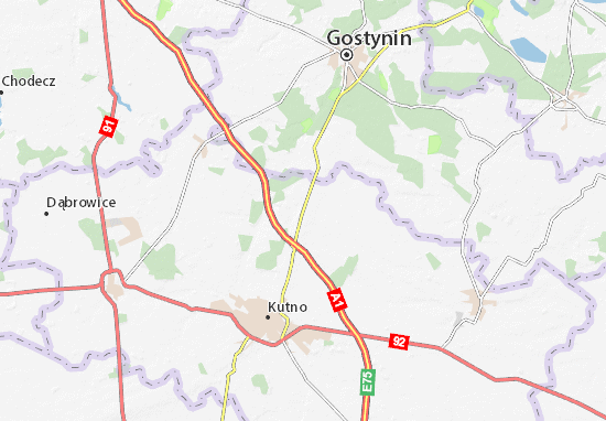 Strzelce Map