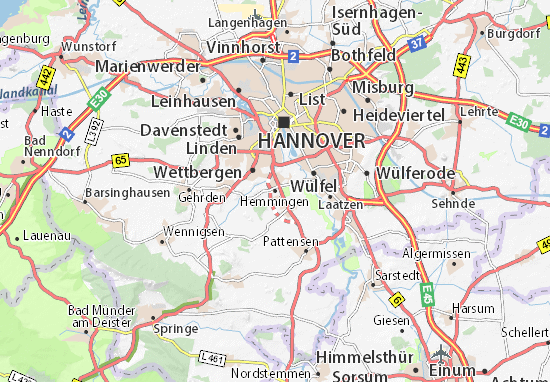 Hemmingen Map
