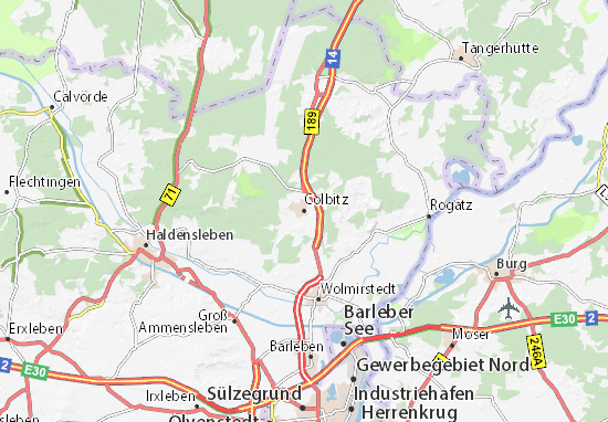 Carte-Plan Colbitz