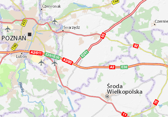 Kleszczewo Map
