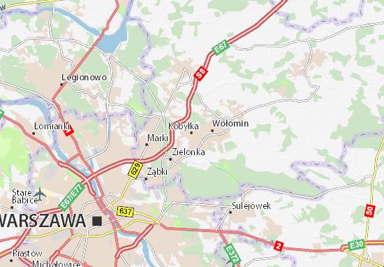 Mapa Kobyłka