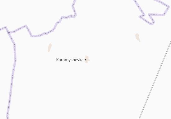 Karamyshevka Map