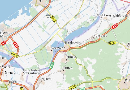 Mapas-Planos Harderwijk