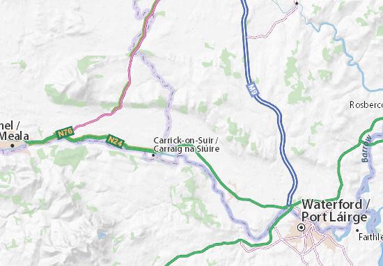 Mapa Plano Kilkenny