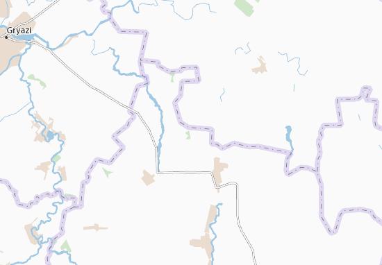 Carte-Plan Dubovoye