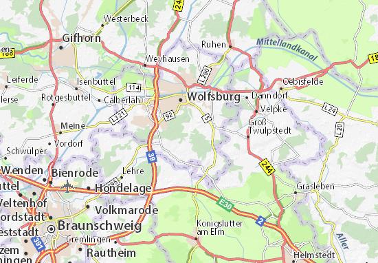 Barnstorf Map