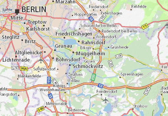 Karte Stadtplan Gosen