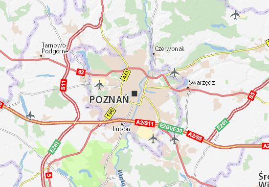 Mappe-Piantine Poznań