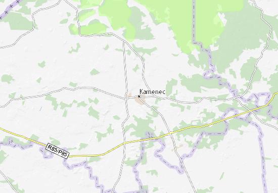 Kamenec Map
