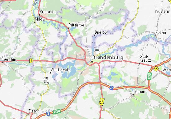 Mappe-Piantine Brandenburg