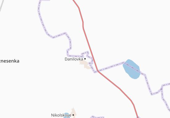 Danilovka Map