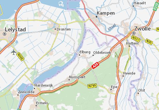 Carte-Plan Elburg