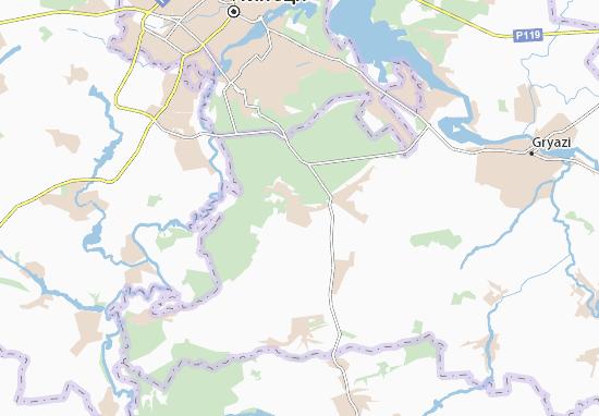 Dvurechki Map