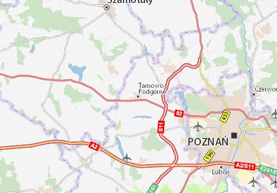 Tarnowo Podgórne Map