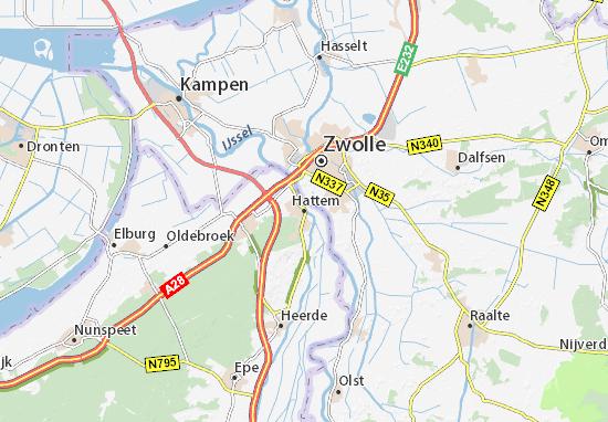 Hattem Map