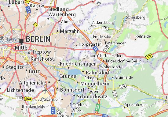 Mappe-Piantine Schöneiche bei Berlin