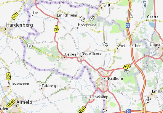 Mapa Plano Neuenhaus