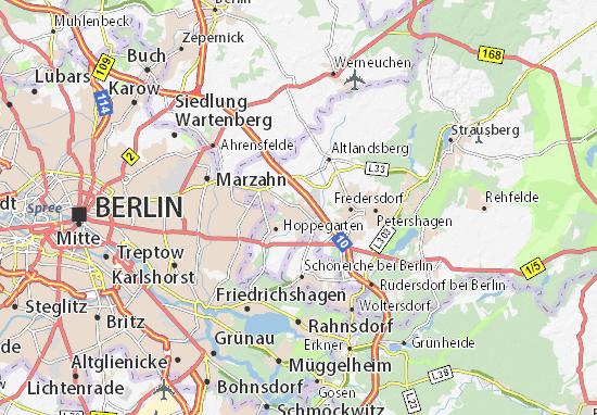 Mappe-Piantine Neuenhagen bei Berlin