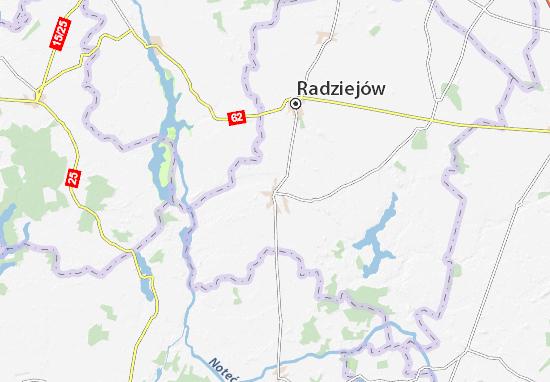 Piotrków Kujawski Map