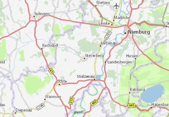 Steyerberg Map