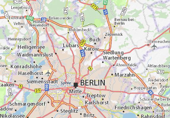 Karte Stadtplan Blankenburg