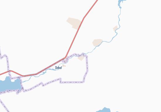 Carte-Plan Oktyabr'skiy