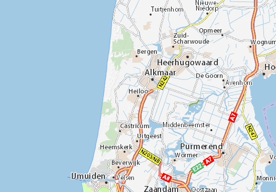 Heiloo Map