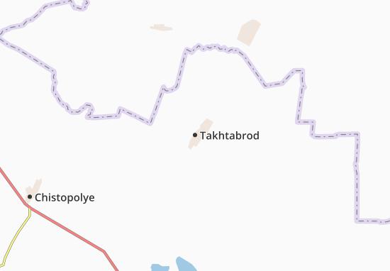 Kaart Plattegrond Takhtabrod