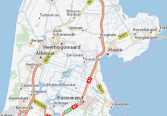 Mapa Plano De Goorn