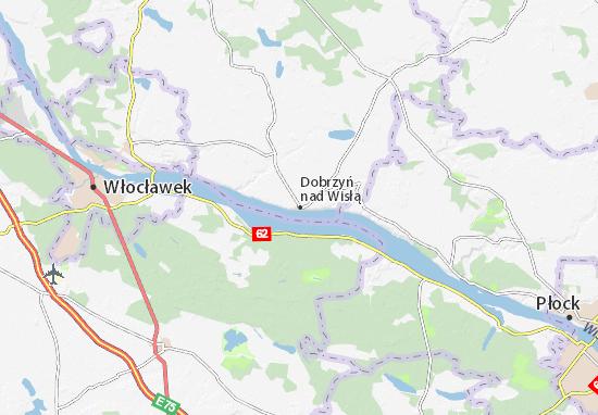 Mappe-Piantine Dobrzyń nad Wisłą