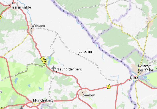Mappe-Piantine Letschin