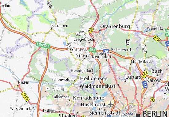 Mapas-Planos Velten