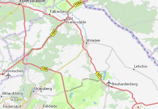 Carte-Plan Schulzendorf