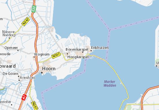 Mapa Stede Broec