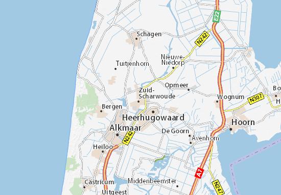 Mapa Langedijk