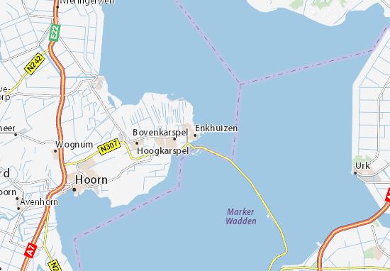 Mapa Enkhuizen
