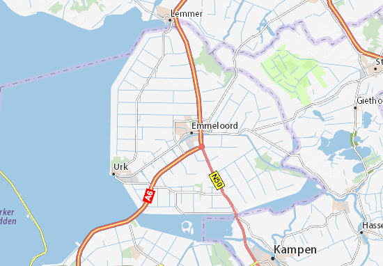 Emmeloord Map