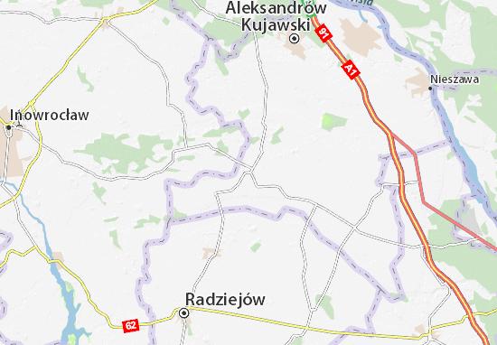 Mappe-Piantine Zakrzewo