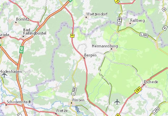 Mappe-Piantine Bergen