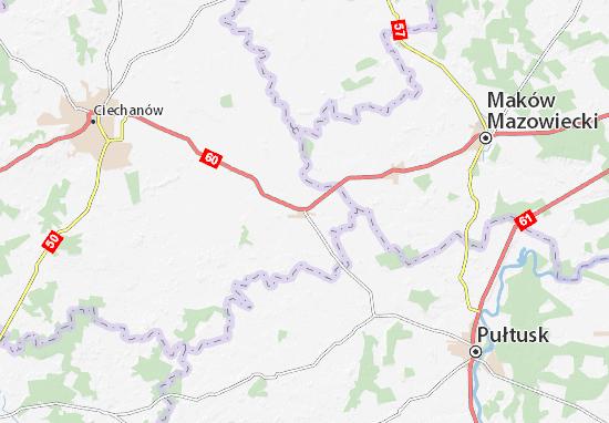 Carte-Plan Gołymin-Ośrodek