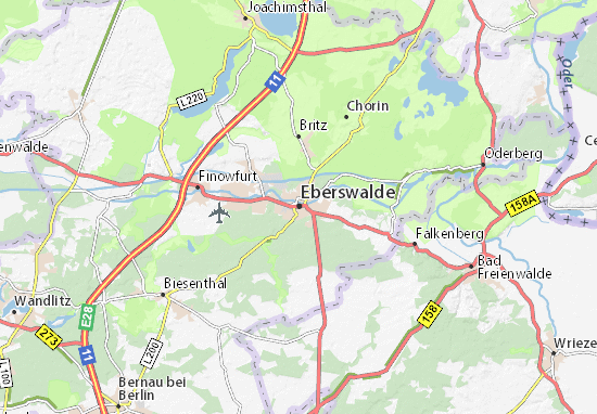 Eberswalde Map