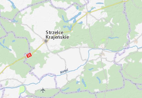 Kaart Plattegrond Stare Kurowo