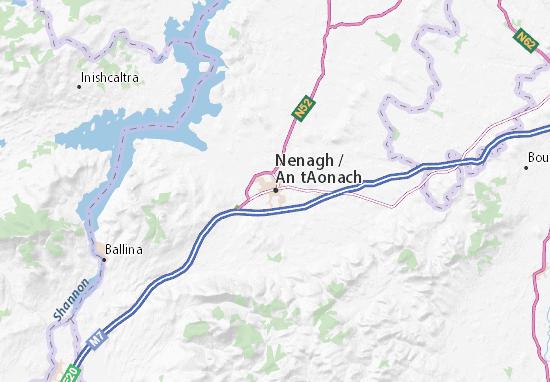 Mapa Plano Nenagh