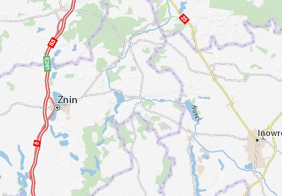 Mapa Barcin