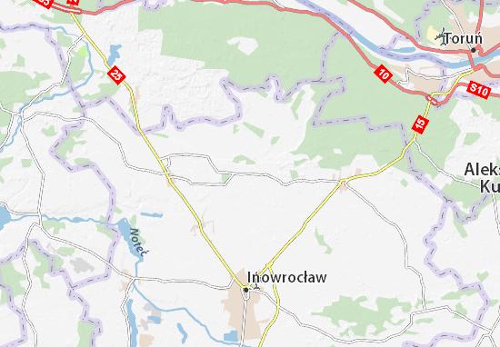Mapa Rojewo
